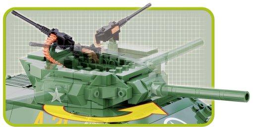 Cobi M-10 Wolverine Tank Set turret