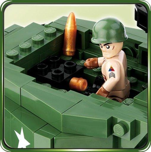 Cobi M-10 Wolverine Tank Turret details