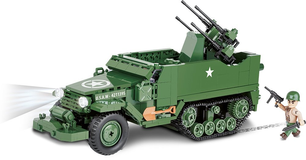 Cobi M16 Half-Track Set Free Shipping
