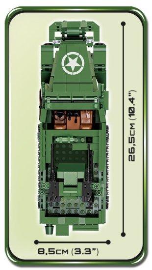 Cobi M16 Half-Track Set Size