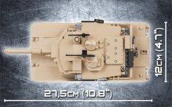 Cobi M1A2 Abrams Tank Set Specs
