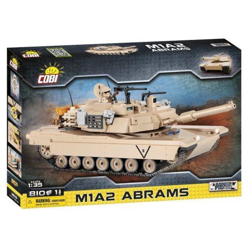 Cobi M1A2 Abrams Tank Set