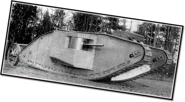 Cobi Mark I Tank History