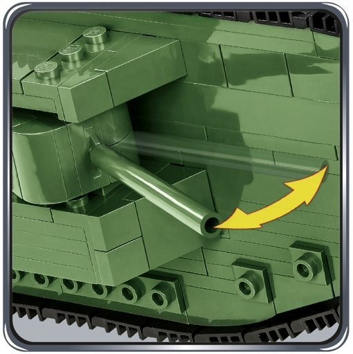 Cobi Mark I Tank Set Guns