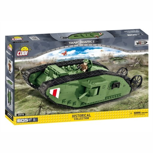 Cobi Mark I Tank Set