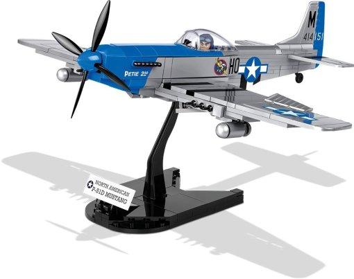 Cobi P-51 Mustang Set Stand
