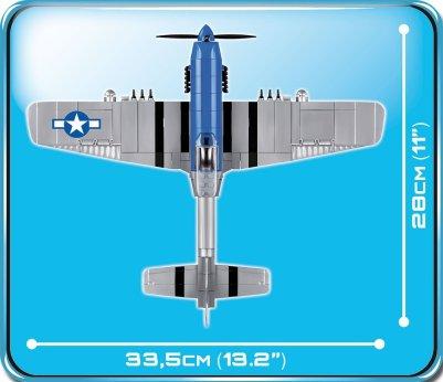 Cobi P-51 Mustang Set width