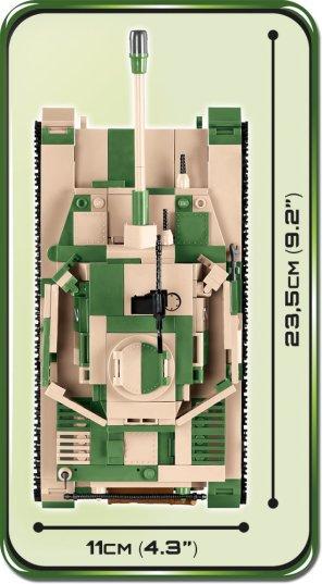 Cobi Panzer IV Tank Set (3 in 1) size