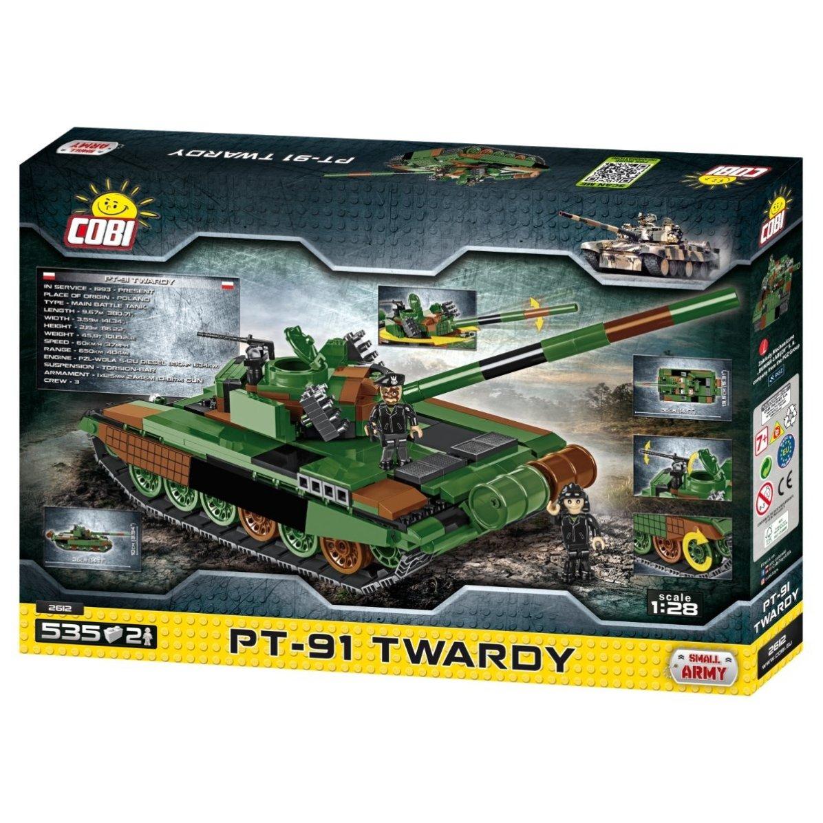 Cobi Polish PT-91 TWARDY Tank Set (2612) Amazon