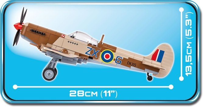 Cobi Supermarine Spitfire MK IX Set Length