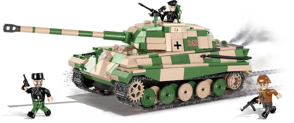 Cobi Tiger II tank Set Free shipping