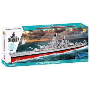 Cobi USS Missouri Brick Set