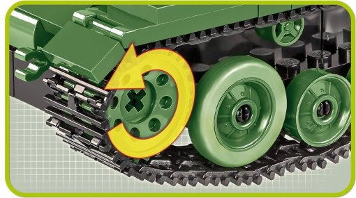 Cobi Valentine MK III Brick Set Track details
