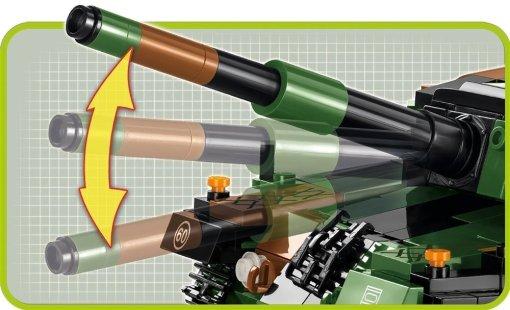 Cobi leopard 2A4 set barrel movement