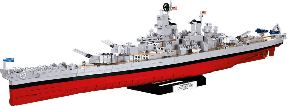 USS Missouri Cobi Set