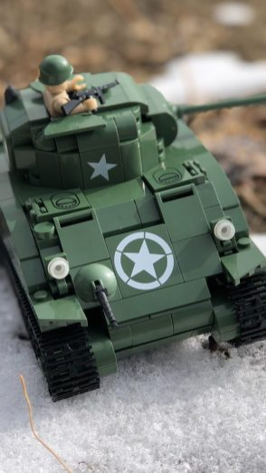 Battle of the Bulge Lego Tank