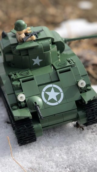 Battle of the Bulge Lego Tank