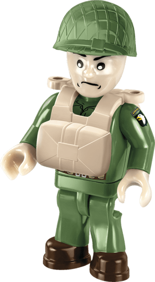 COBI C47 Skytrain Paratrooper