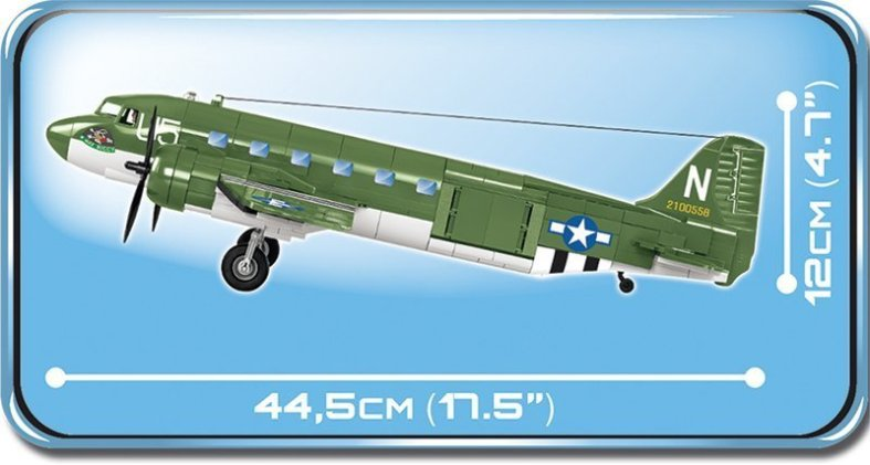 COBI C47 Skytrain Set length