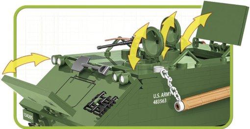 COBI M113 APC Tank Set Hatch Detail