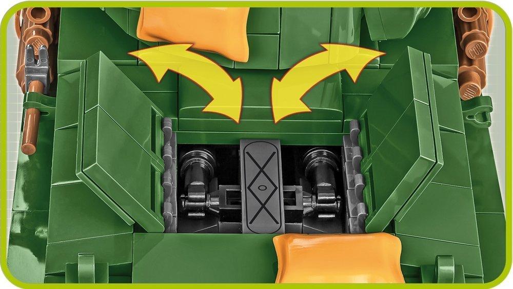 COBI Sherman Easy Eight Engine