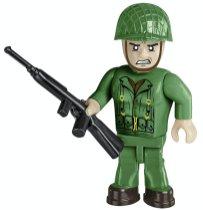 COBI Sherman Easy Eight Tank Set Soldier