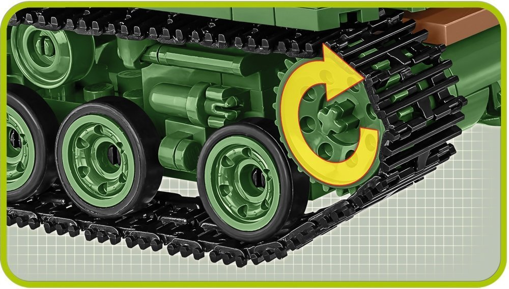 COBI Sherman Easy Eight Track details