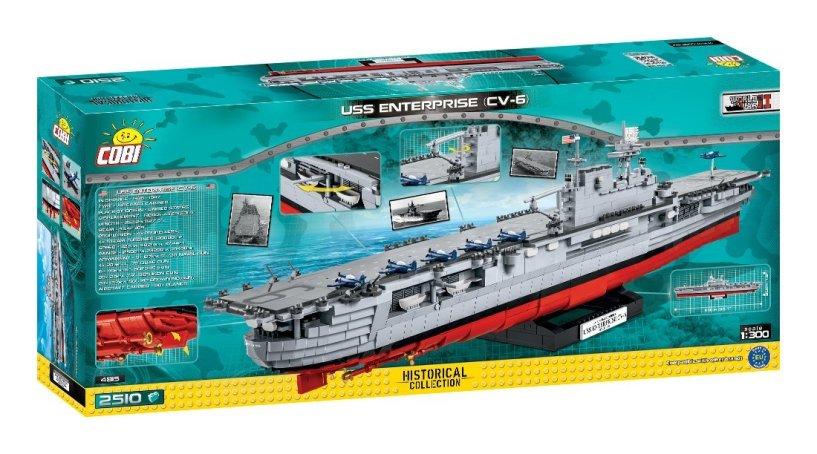 COBI USS Enterprise Box