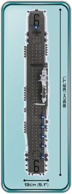 COBI USS Enterprise Set Length