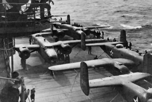 COBI USS Enterprise Set USA Doolittle raid