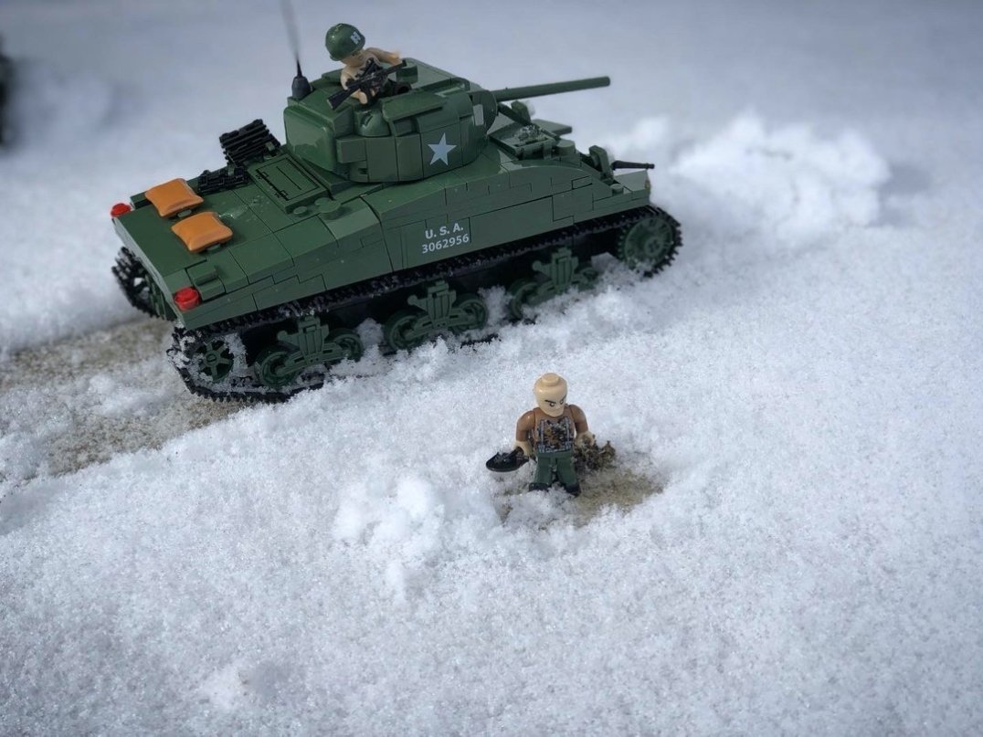 Cobi Sherman Battle of the Bulge Pictures