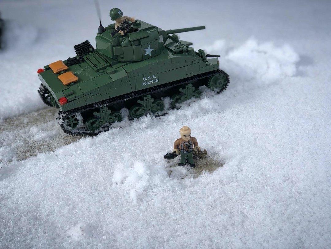 Cobi Sherman Battle of the Bulge Pictures