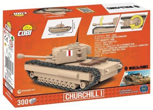 COBI 148 Scale Churchill I Set Box