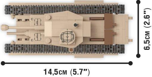 COBI 148 Scale Churchill I Set Size