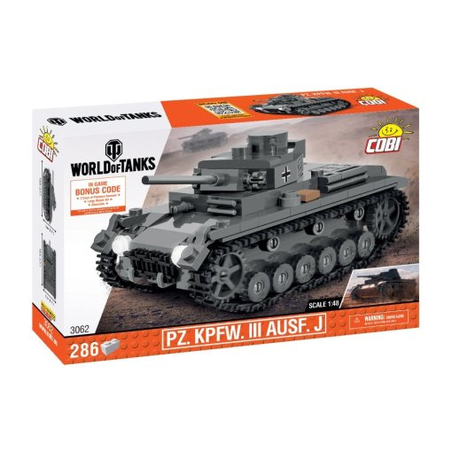 COBI 148 Scale Panzer III Set (3062)