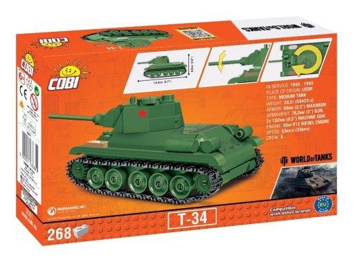 COBI 148 Scale T-34 Set box