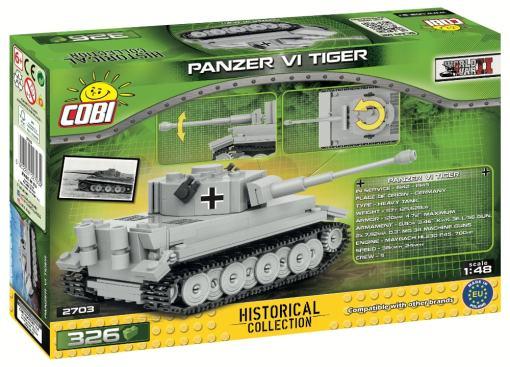 COBI 1:48 Panzer VI Tiger Set
