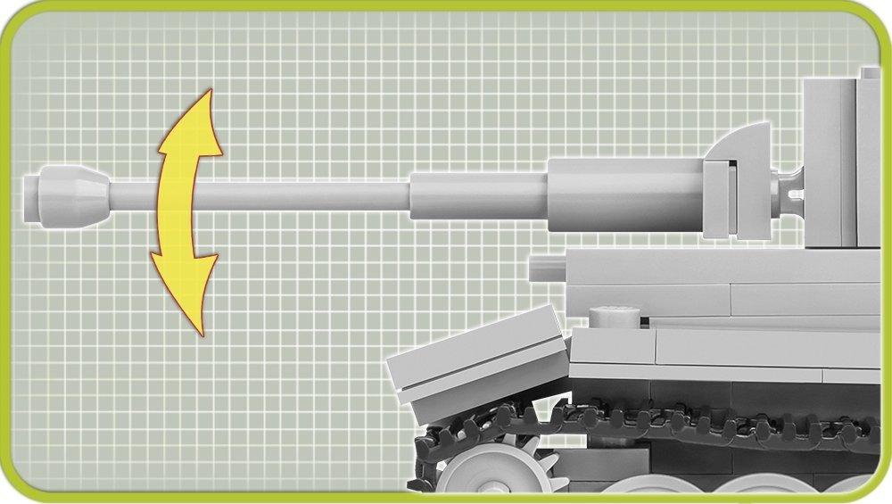 COBI 148 Scale Tiger Tank Images