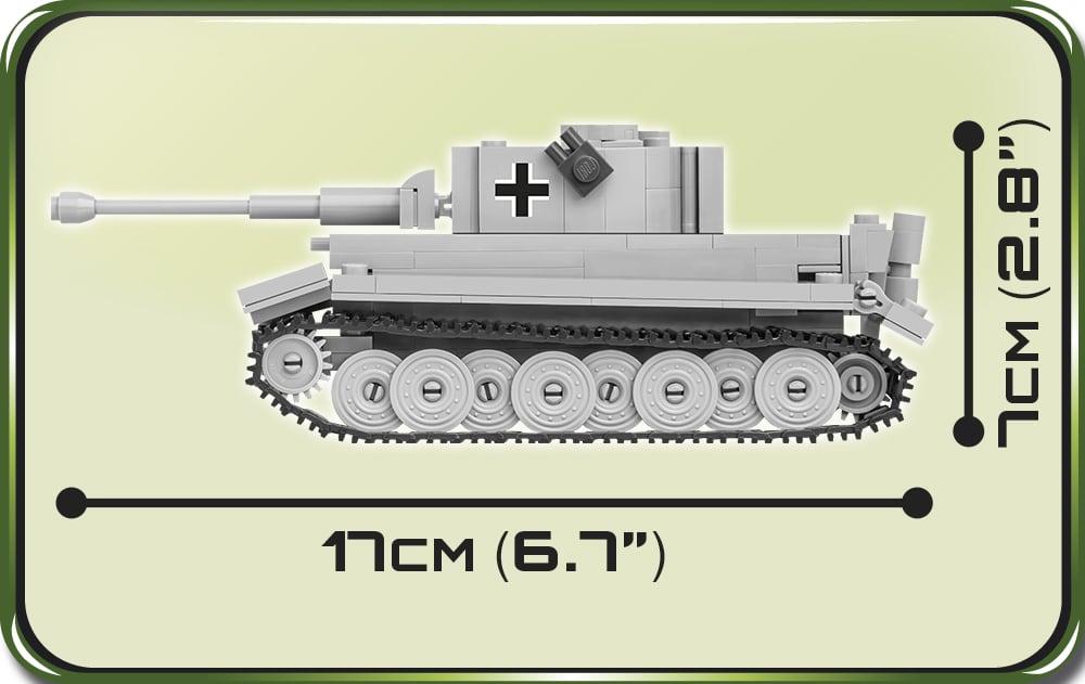 COBI 1:48 Scale Panzer VI Tiger Set