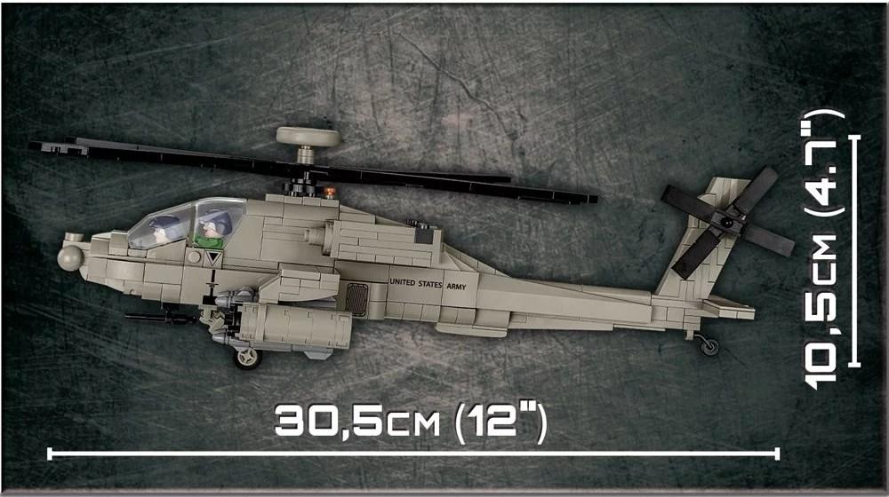 COBI AH-64 Apache Set (5808) Length