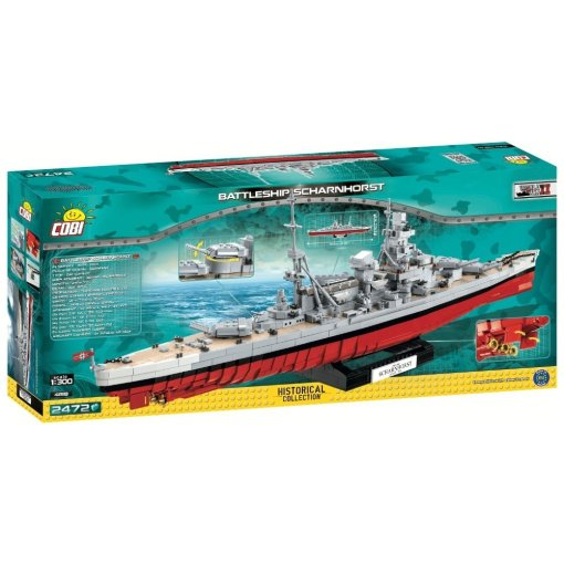 COBI Battleship Scharnhorst Set