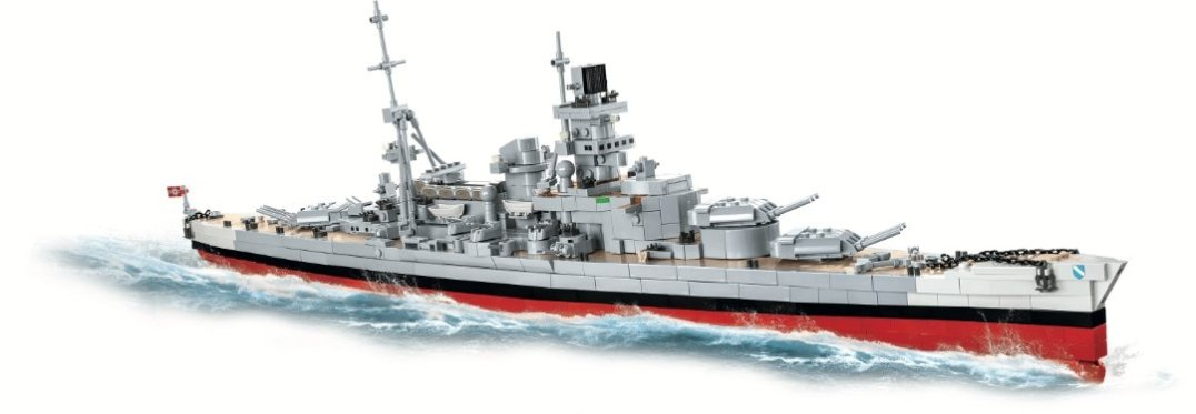 COBI Battleship Scharnhorst Set (4818) Amazon