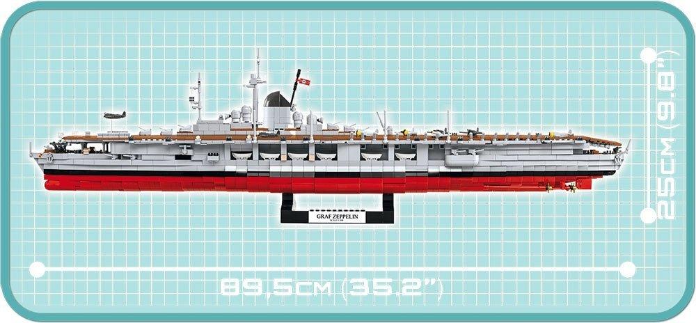 COBI Graf Zeppelin Carrier Set length
