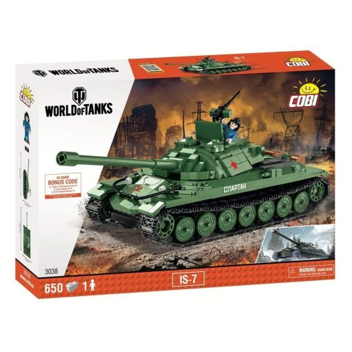 COBI IS7 World Of Tanks Set