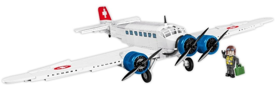 COBI Junkers JU-52 Swiss Version (5711) Amazon