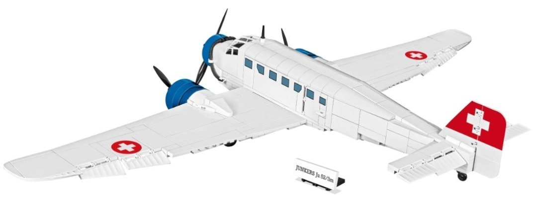 COBI Junkers JU-52 Swiss Version (5711) Best Price Amazon