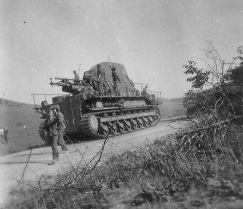 COBI KARL-Gerat 040 during WWII