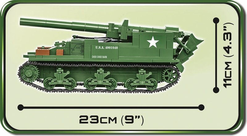 COBI M12 Gun Motor Carriage