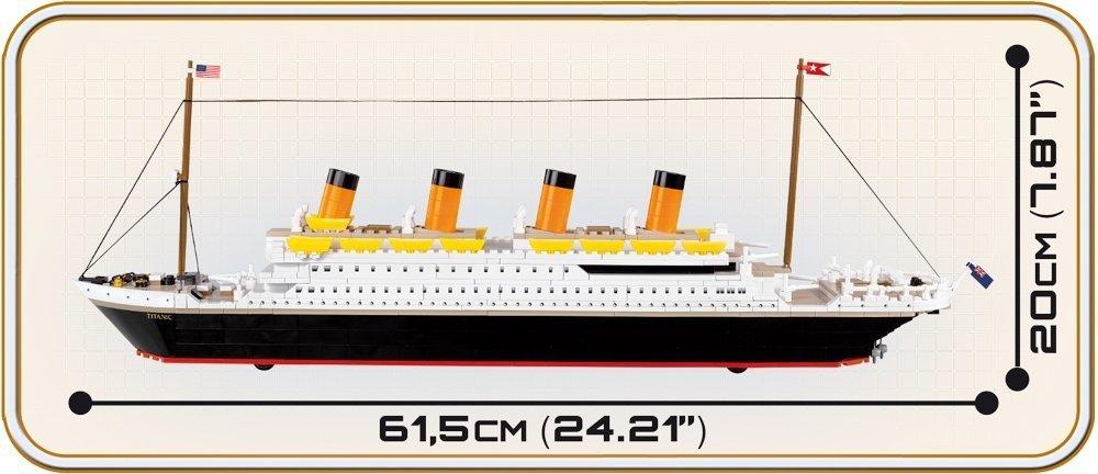 COBI R.S.M Titanic Set Length