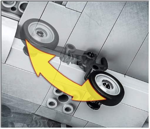 COBI Rafale C landing gear